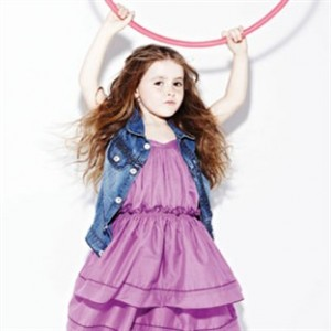 Caoimhe Judd, Age 6- Her thing is Hula hooping