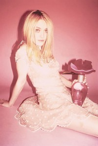 Dakota Fanning Modelling In The New Marc Jacobs Fragrance Ad