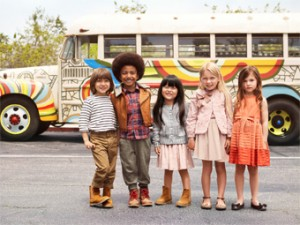 Children model H&M's special collection supporting UNICEF/All For Children