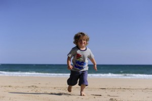 Model wears pieces from Frugi's Spring/Summer '11 range