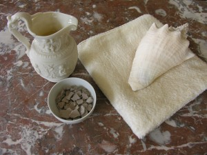 Rhassoul clay, used for washing the hair, face and body, available at Natural Spa Supplies UK