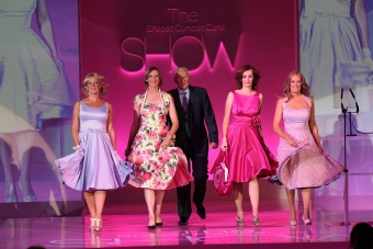 Real models for Breast Cancer Care fashion show