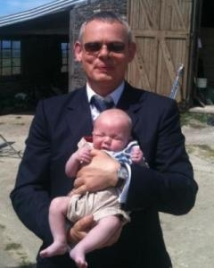 Talent Management's Baby Model Alfie With Martin Clunes