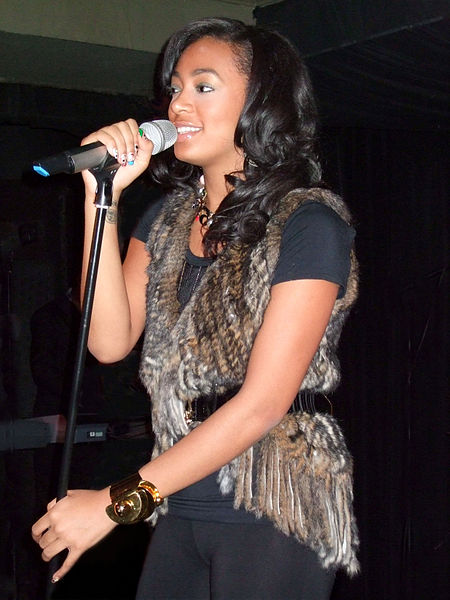 Solange Knowles at the Ruby Lounge