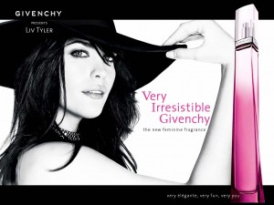 Liv Tyler Modelling For Givenchy