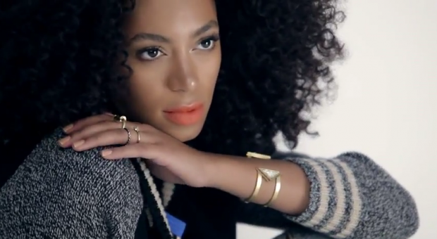 Screen shot of Mix Well. Madewell. (Featuring Solange Knowles) video