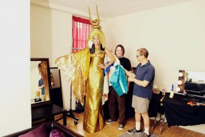 "Heidi Klum's Twitpic: ""Here's a sneak peek at my crazy Cleopatra costume!"""