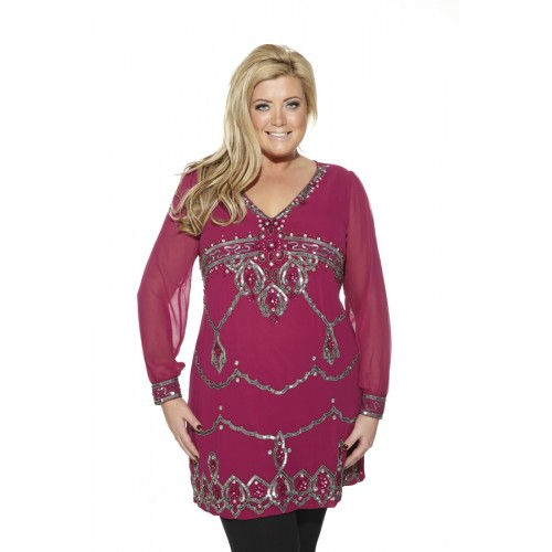 'Vienna dress' from the 'Gemma Collins' Collection'
