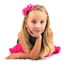 Talent Management child model Darina is a natural in front of the camera