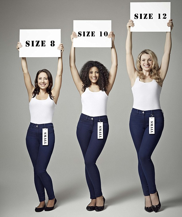 George launches the Wonderfit Jean - the magical jean where one size fits all
