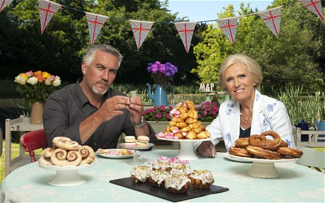 The Great British Bake Off - Judges Paul Hollywood and Marry Berry