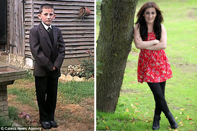Teenage boy becomes female glamour model after being bullied for big